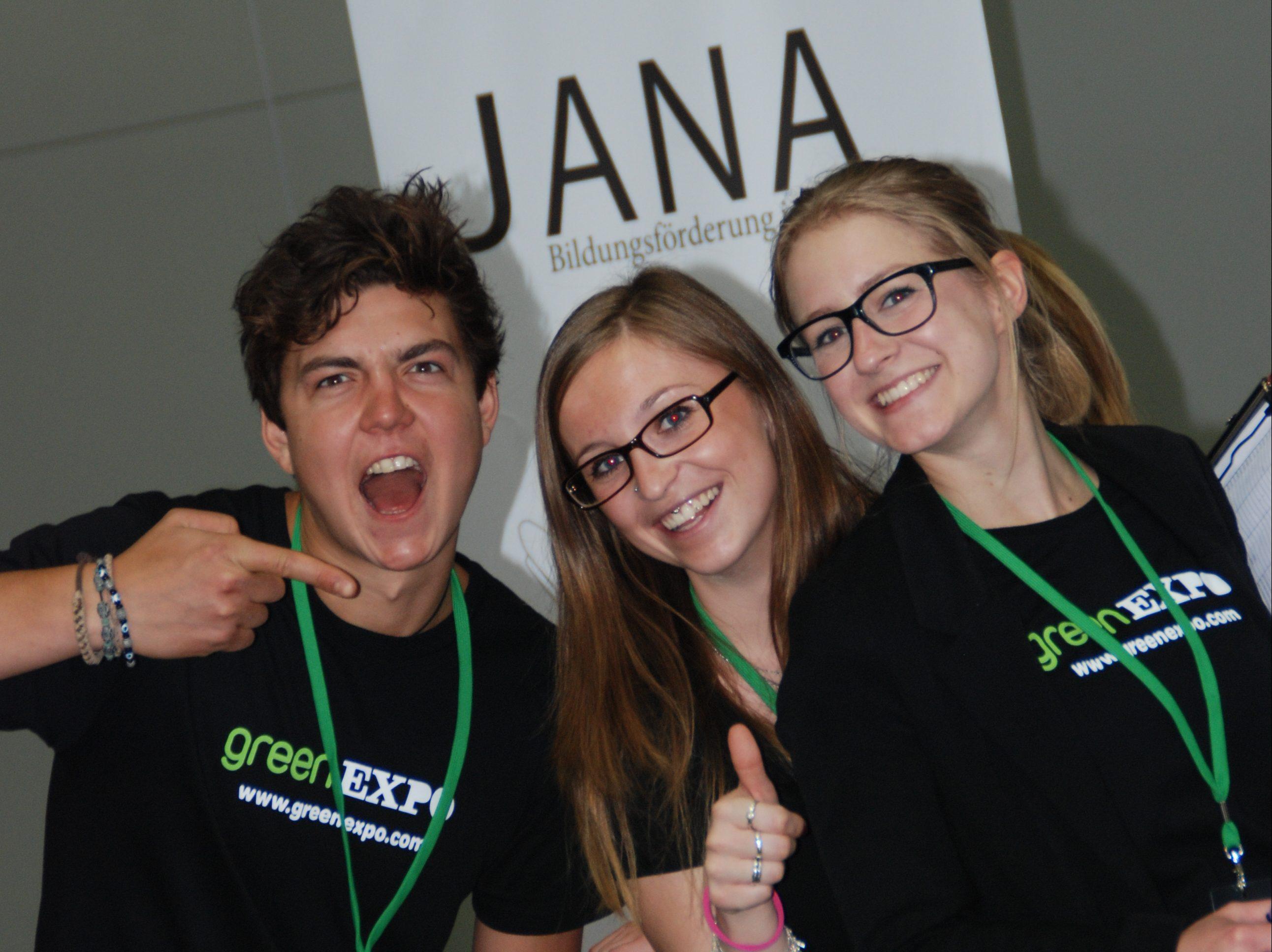 JANA bei der 'Green Expo' in Wien